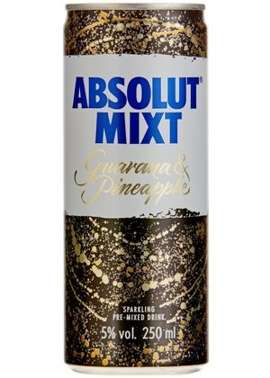 Absolut MIXT Guarana & Pineapple 250 ml / 5 % Frankreich