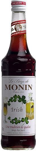 MONIN Premium Irish Kaffee / Irish Coffee Sirup 70 cl Frankreich