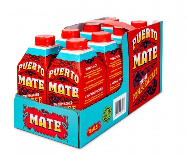 Puerto Mate GRANATAPFEL Kiste 24 x 500 ml Österreich