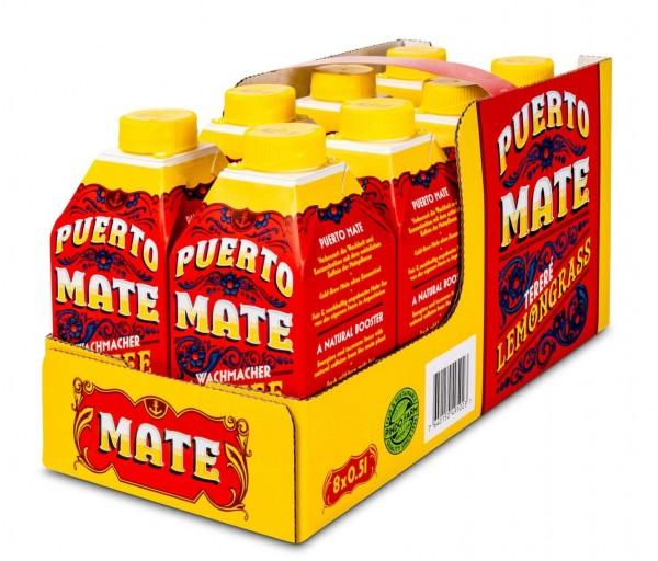 Puerto Mate ZITRONENGRAS Kiste 24 x 500 ml Österreich