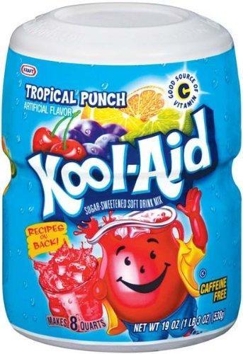 Kool-Aid Tropical Drink Mix 680 Gramm USA