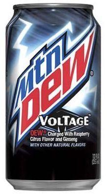 Mountain Dew Voltage 355 ml USA