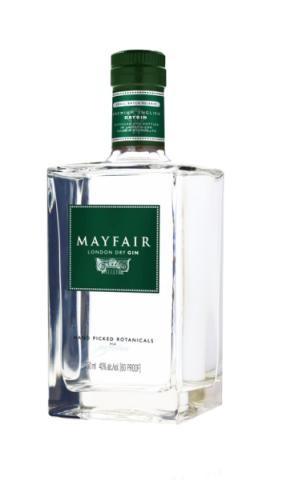 MAYFAIR London Dry Gin 70 cl / 43 % UK
