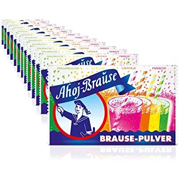 Ahoj Brause BOX with 28 x 10 bags mixed Germany