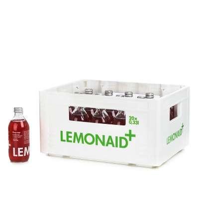 LemonAid Blutorange Kiste 20 x 330 ml Glas Deutschland