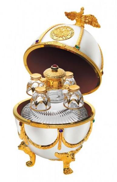 Imperial Collection Premium Fabergé Ei Vodka 70 cl / 40 % Russland