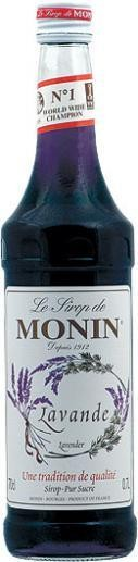 MONIN Premium Lavande / Lavendel Sirup 70 cl Frankreich