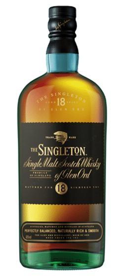 SINGLETON of Dufftown 18 Years Single Malt Scotch Whisky 70 cl / 40 % Schottland