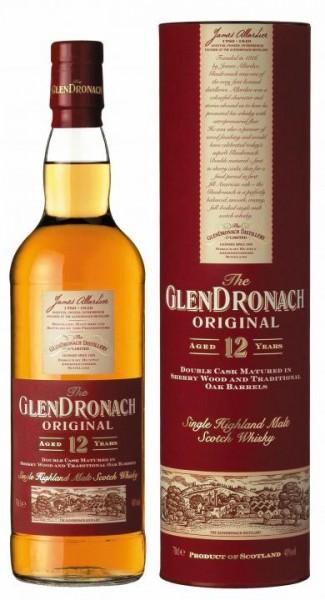 Glendronach Original 12 Jahre 70 cl / 43 % Schottland