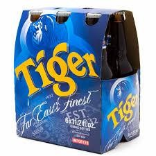 Tiger Bier Kiste 24 x 330 ml / 5 % Singapur