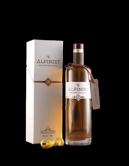The ALPINIST RARE BLEND PREMIUM RUM 70 cl / 41 % Schweiz