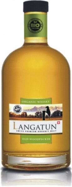 LANGATUN Old Woodpecker BIO Single Malt 50 cl / 46 % Schweiz