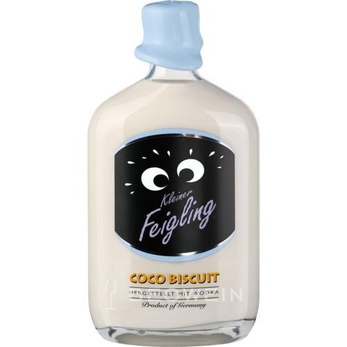 Kleiner FEIGLING Flasche COCO BISCUIT Vodka Likör 50 cl / 15 % Deutschland