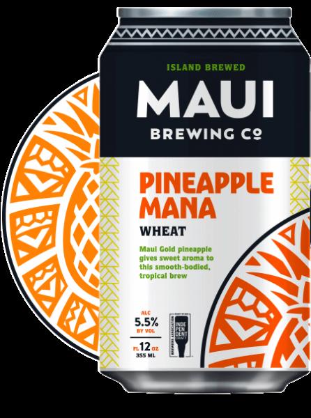 Maui Brewing MANA WHEAT Wheat Ale with Pineapple Juice 355 ml / 5.5 % Hawaii