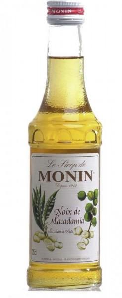 MONIN Premium MACADAMIA Sirup KLEINFLASCHE 25 cl Frankreich