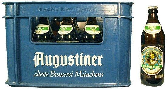 Augustiner HELLES Lagerbier 20 x 500 ml / 5.2 % Deutschland