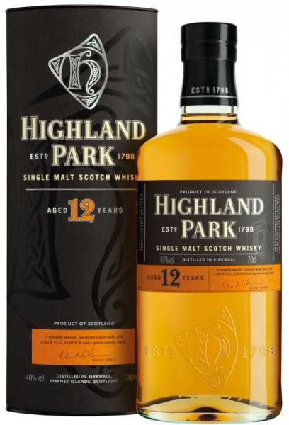 Highland Park Single Malt Scotch Whisky 12 Years 70 cl / 40 % Schottland