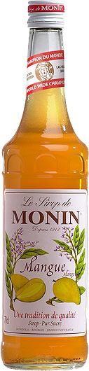 MONIN Premium Mangue / Mango Sirup 70 cl Frankreich