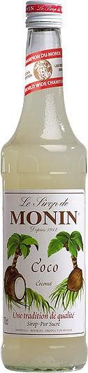 MONIN Premium Coco / Coconut Sirup 70 cl Frankreich