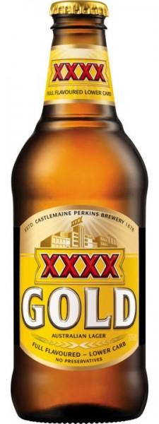XXXX GOLD Australian Lager 375 ml / 3.5 % Australien
