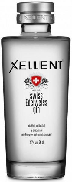 XELLENT Swiss Edelweiss Gin 70 cl / 40 % Schweiz