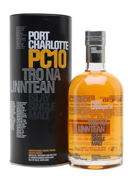 Bruichladdich Port Charlotte PC10 Tro Na Linntean Whisky 70 cl / 59.8 % Schottland