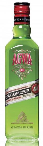 AGWA DE BOLIVIA Coca Leaf Likör 70 cl / 30 % Holland