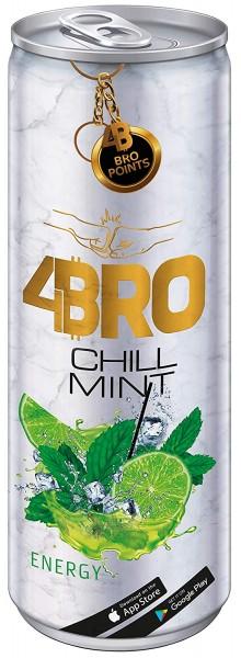 4Bro Energy Drink CHILL MINT 250 ml Deutschland