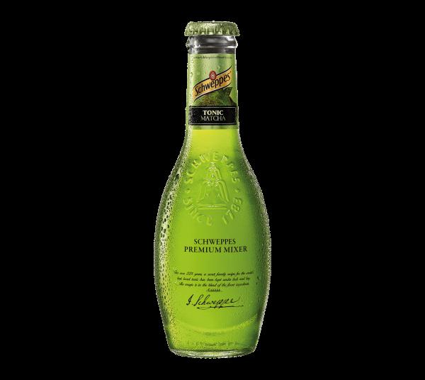 Schweppes Premium Mixer MATCHA Tonic 200 ml Belgien