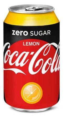 Coca Cola ZERO Lemon 330 ml Frankreich