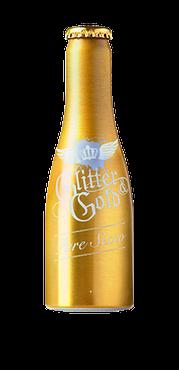 GLITTER GOLD Pure Secco Aluflasche 20 cl / 10 % Deutschland