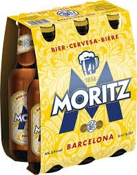 Moritz Barcelona 24 x 330 ml / 5.4 % Spain