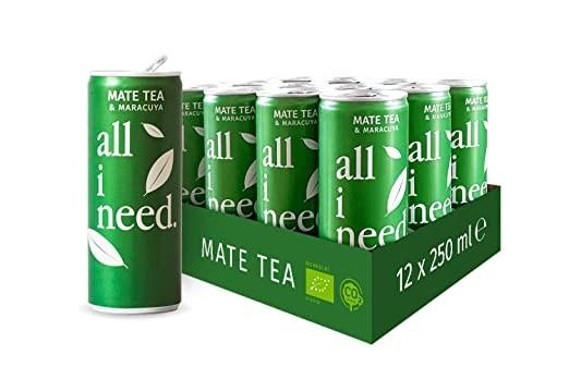 all I need MATE TEA Bio Teegetränk Kiste 24 x 250 ml Österreich