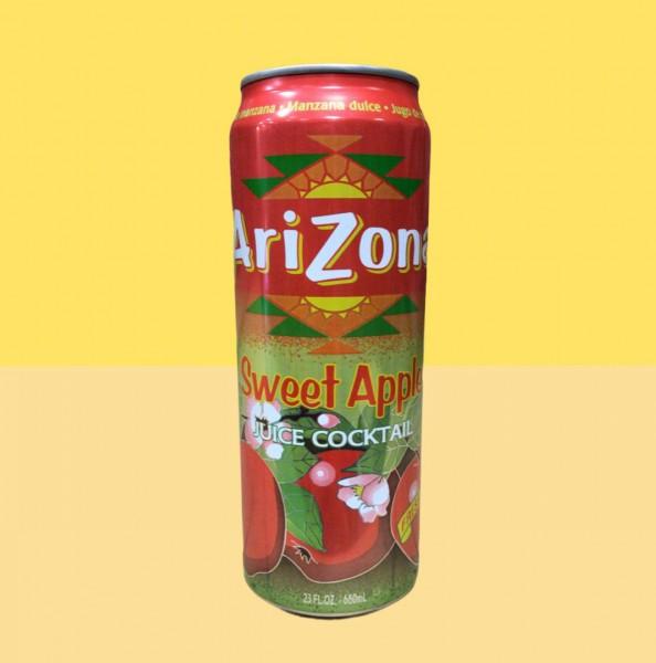 Arizona Sweet Apple Juice Cocktail Kiste 24 x 680 ml USA