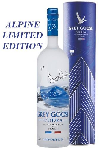 Grey Goose ALPINE Geschenkbox 1 Liter / 40 % Frankreich