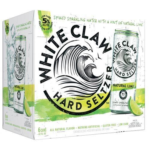 White Claw HARD SELTZER NATURAL LIME Kiste 24 x 355 ml / 5 % USA