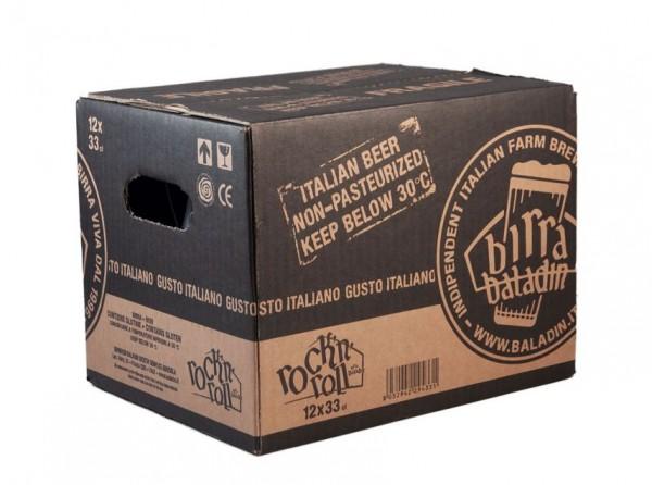 Birra BALADIN ROCK n' ROLL American Pale Ale with Pepper Kiste 24 x 330 ml / 7.5 % Italien