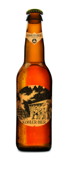 Barkracher KÖHLER-BIER Amber 330 ml / 4,8 % Schweiz
