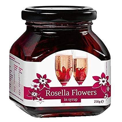 Rosella Flowers Hibiskusblüten 8 Stück 270 Gramm