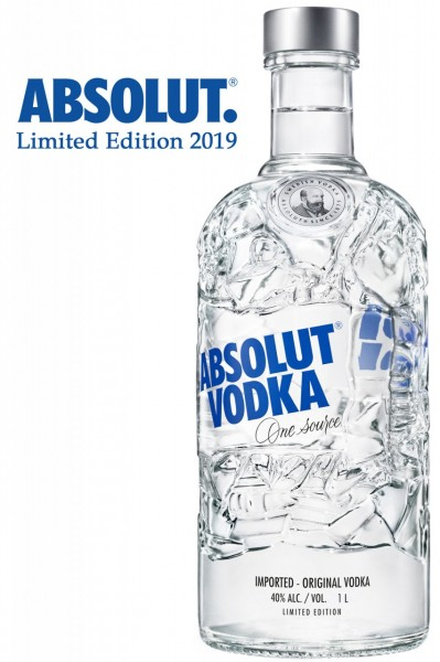 Absolut RECYCLED Special Edition 2019 - 70 cl / 40 % Schweden