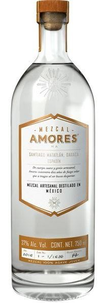 MEZCAL Amores MAORES Joven Espadin 70 cl / 37 % Mexico