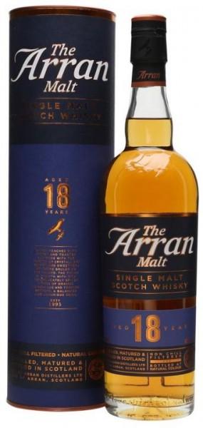 The Arran Single Malt Scotch Whisky 18 Jahre 70 cl / 46 % Schottland