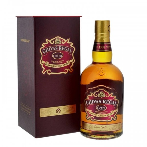 Chivas Regal EXTRA Blended Scotch Whisky 70 cl / 40 % Schottland