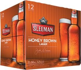 SLEEMAN Honey Brown Lager Kiste 24 x 355 ml / 5.2 % Kanada