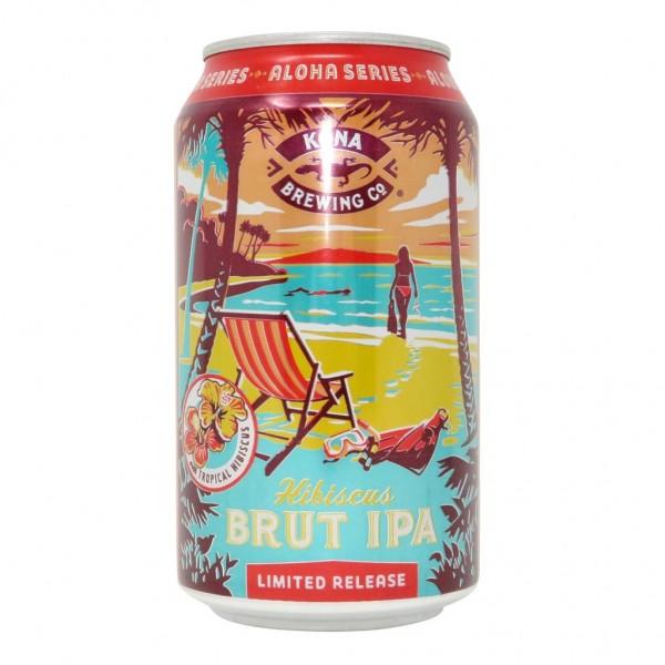 Kona Hibiskus BRUT IPA Limited Release Dose 355 ml / 8.2 % Hawaii
