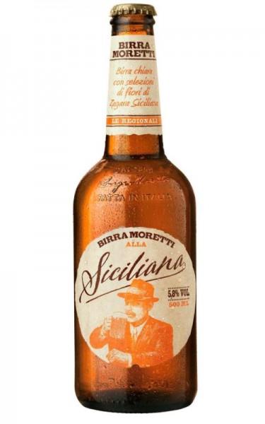 Birra MORETTI Siciliana 500 ml / 5.8 % Italien