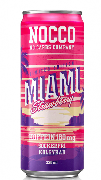NOCCO BCAA Miami 330 ml Schweden