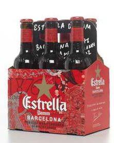 Estrella Damm Bier Kiste 24 x 330 ml / 4.6 % Spanien