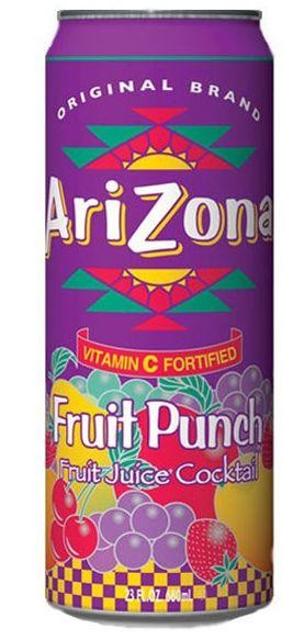 Arizona Fruit Punch 680 ml USA