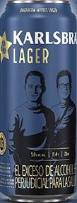 KARLSBRÄU mildes LAGER Bier Dose 500 ml / 5 % Deutschland